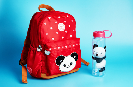 Bao Bao Backpack and Plastic Water Bottle Set