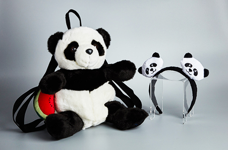 Panda Backpack and Bopper Set