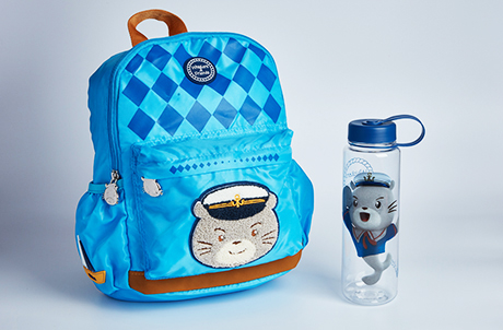 Whiskers Backpack and Plastic Water Bottle Set